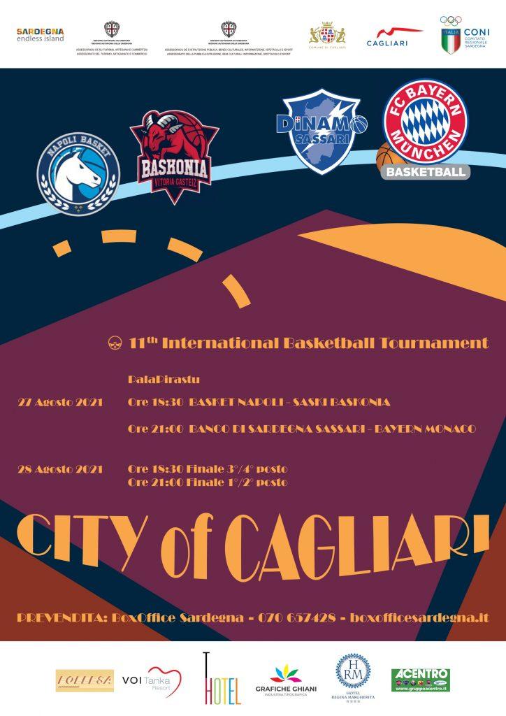 City Of Cagliari basketball