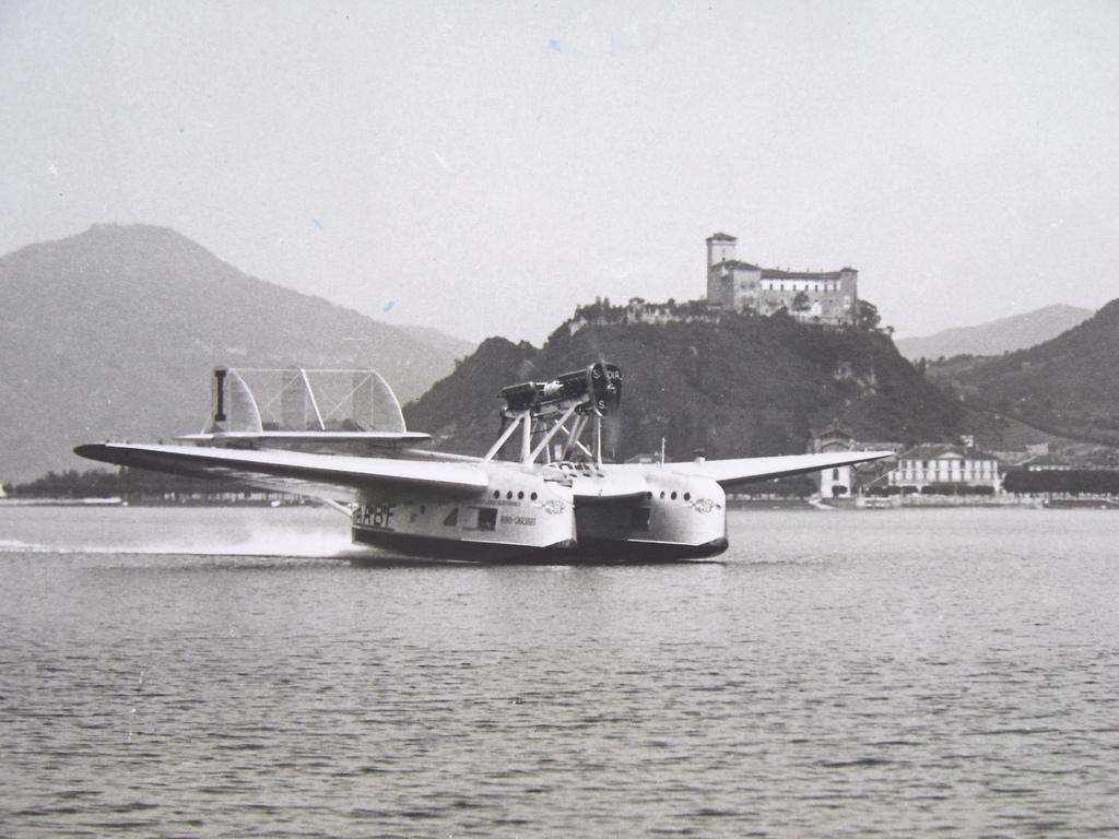 Primo collegamento aereo Ostia Cagliari