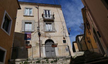 facciata di Palazzo Pistilli