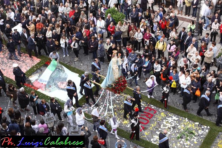 processione della Madonna -Foto Di Gino Calabrese