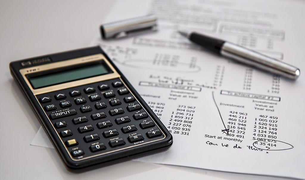 Guardia di Finanza - Calcolatrice E Penna