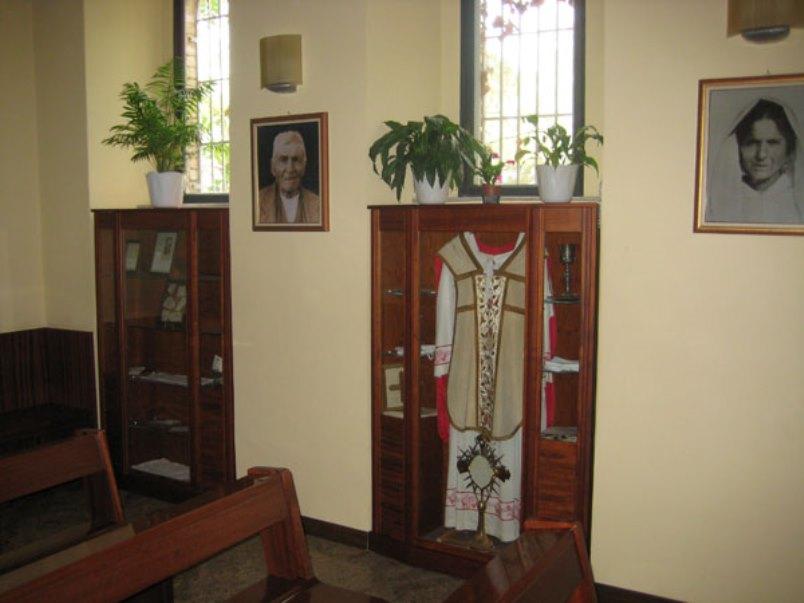 Padre Pio - Interno Cappella Padre Pio