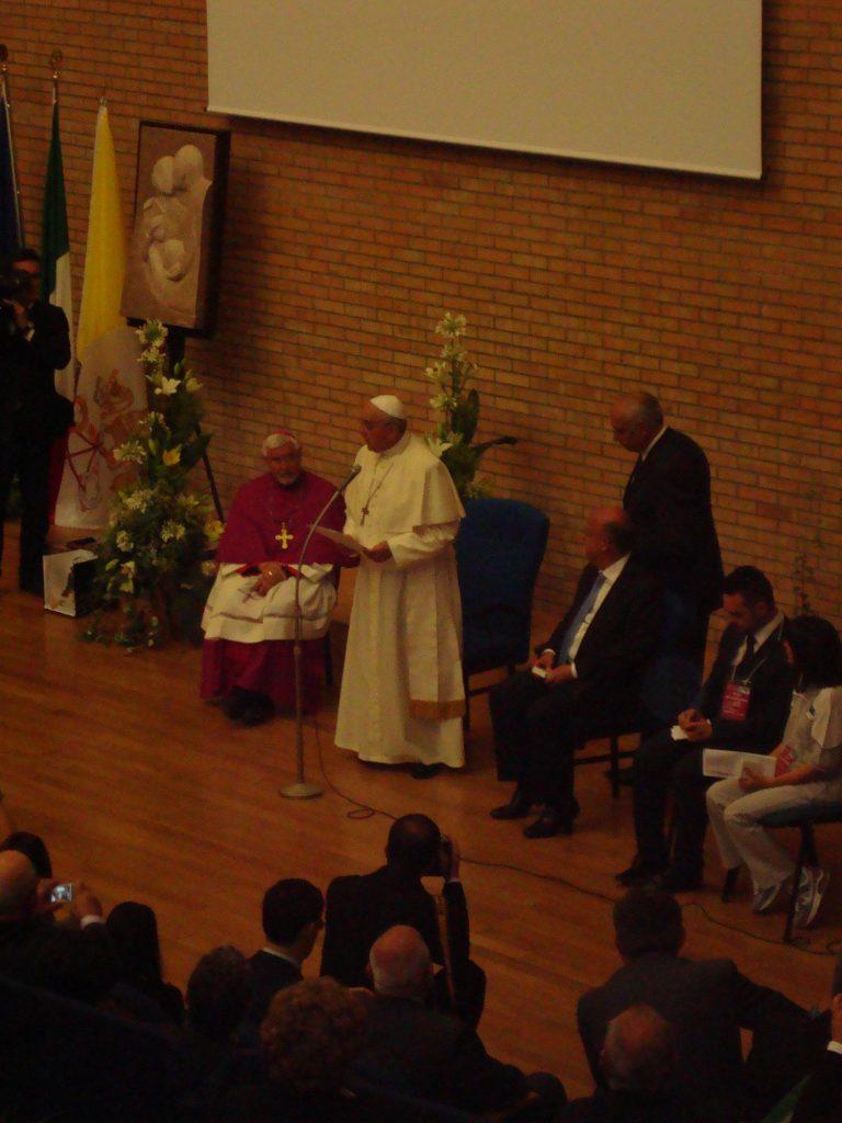 Papa Francesco -Unimol