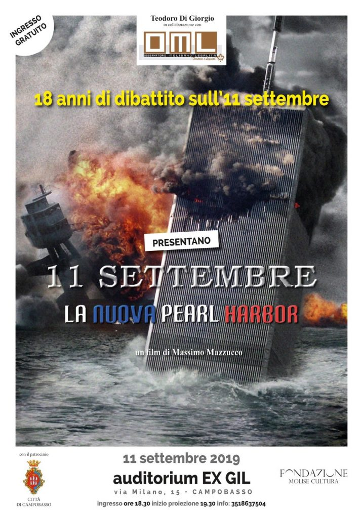 11 settembre - Manifesto 11 Settembre