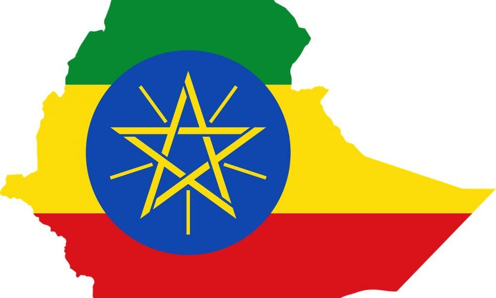 Etiopia -. Bandiera Eriopia