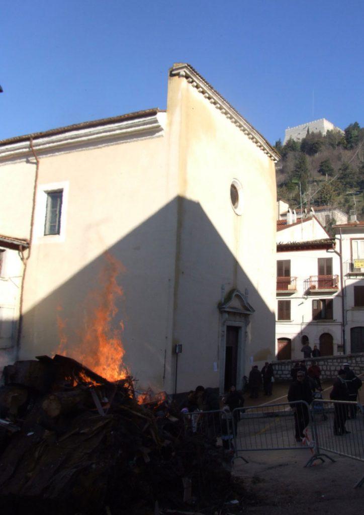 Sant'Antonio Abate - Fuoco Santantonio