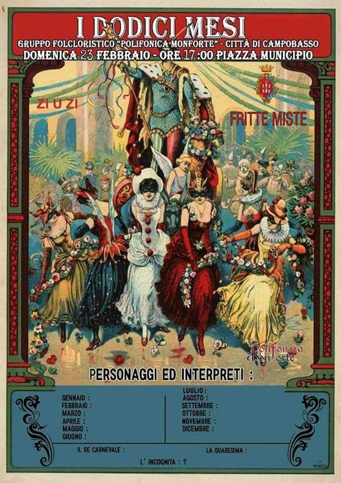 I Giullari di Spade - Locandina Carnevale