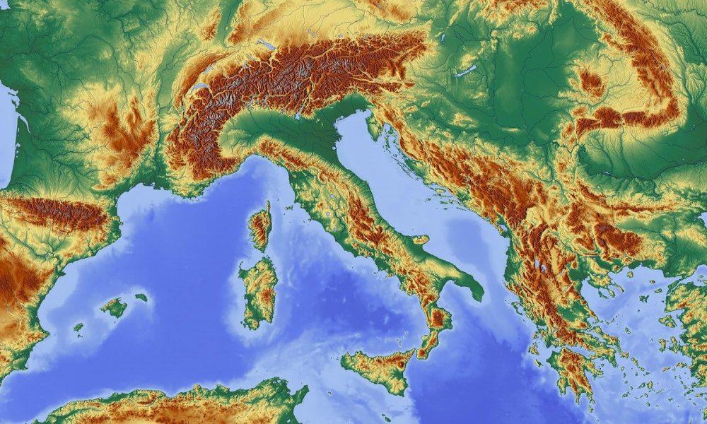 Cartina Italia