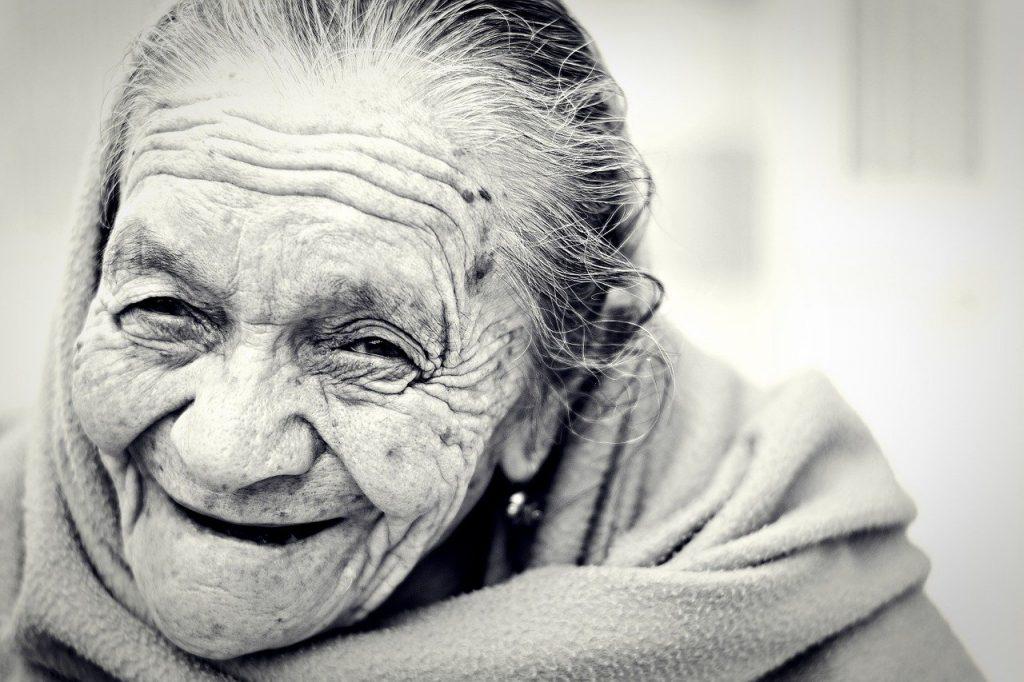 Italia - Sorriso Anziana
