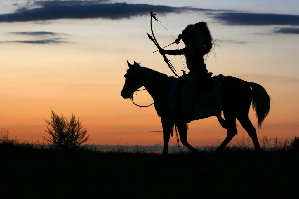 Cavallo Pazzo - Indiano Con Arco