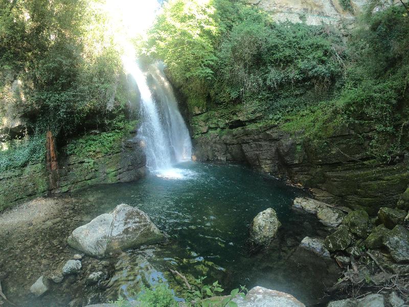 cascate di Carpinone
