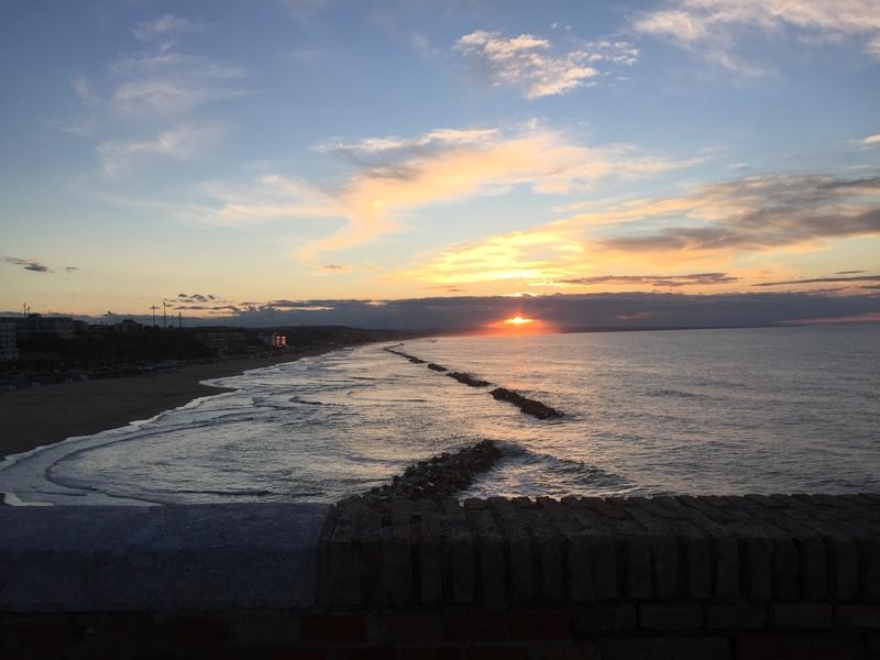 Termoli al tramonto
