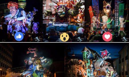 un carro del carnevale 2019- pagina fb @carnevaledilarino