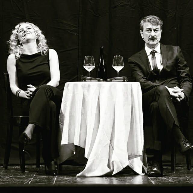 Paola E Nello in scena
