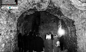 Uno scorcio di grotta @campobassounderground