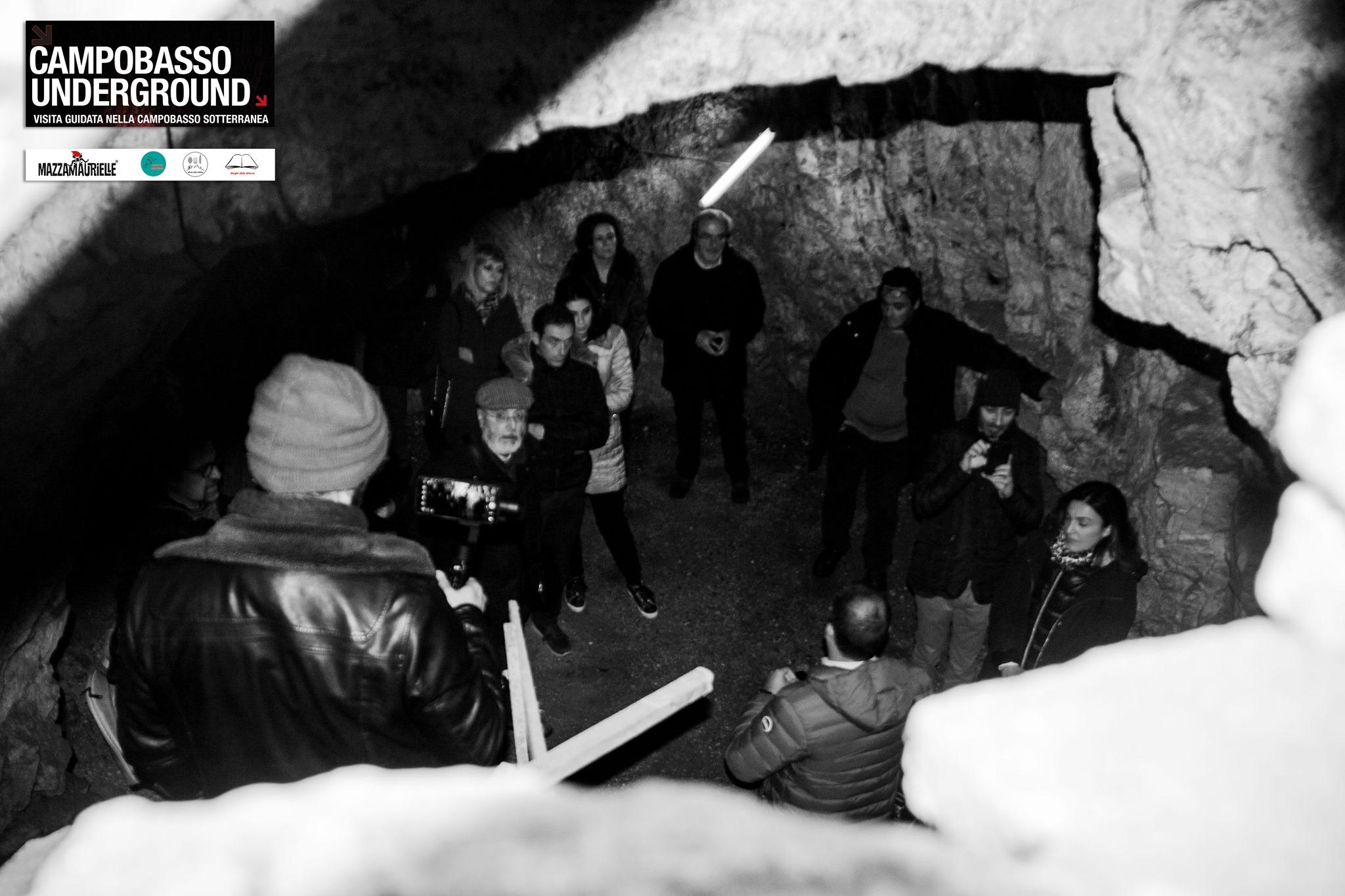 i sotterranei @campobassounderground