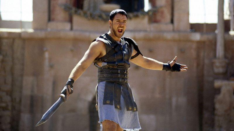 Museo Dei Gladiatori - una scena del film il gladiatore