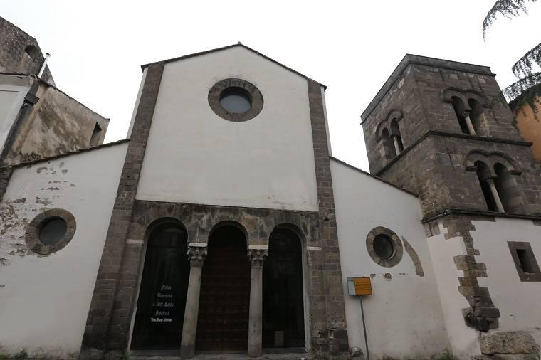 La chiesa di San Salvatore a corte, la più importante delle chiese della Capua longobarda.