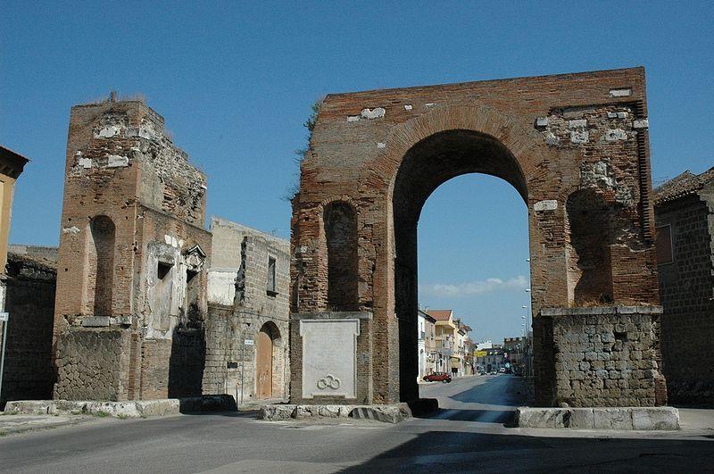 Arco Di Adriano - foto dell'arco