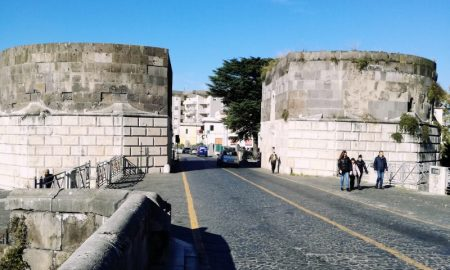 la Porta di Capua - Torri di Federico II