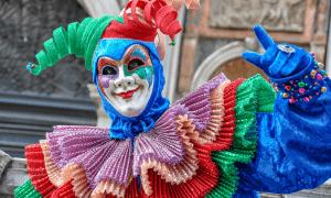 Carnevale di Capua - una maschera della festa