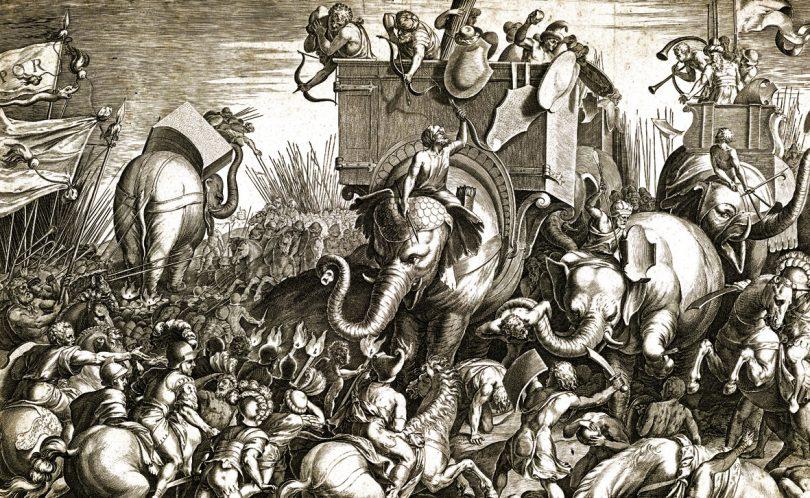 Ozi di Capua - l'esercito di Annibale