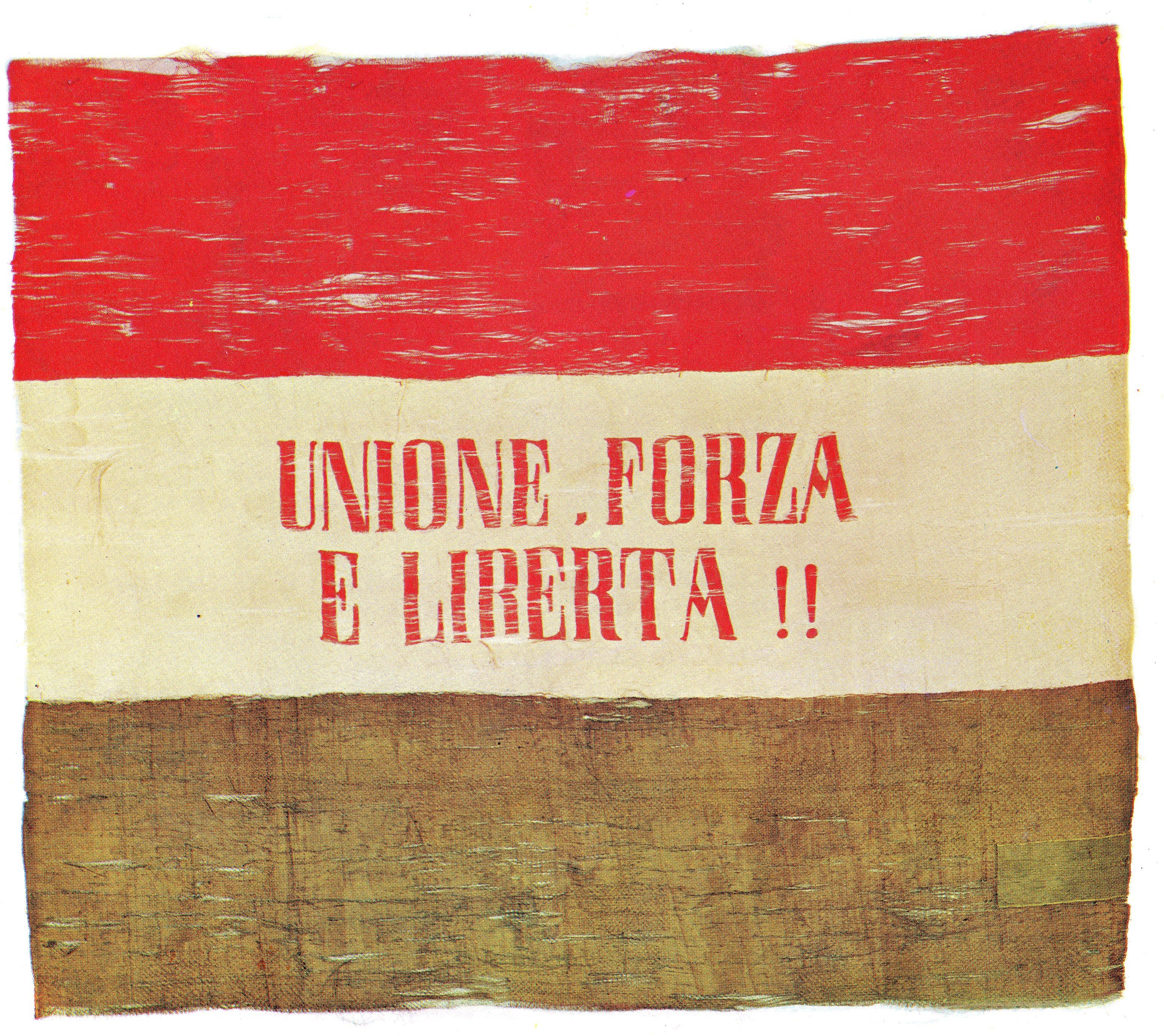 Salvatore Pizzi si unì alla Giovine Italia.