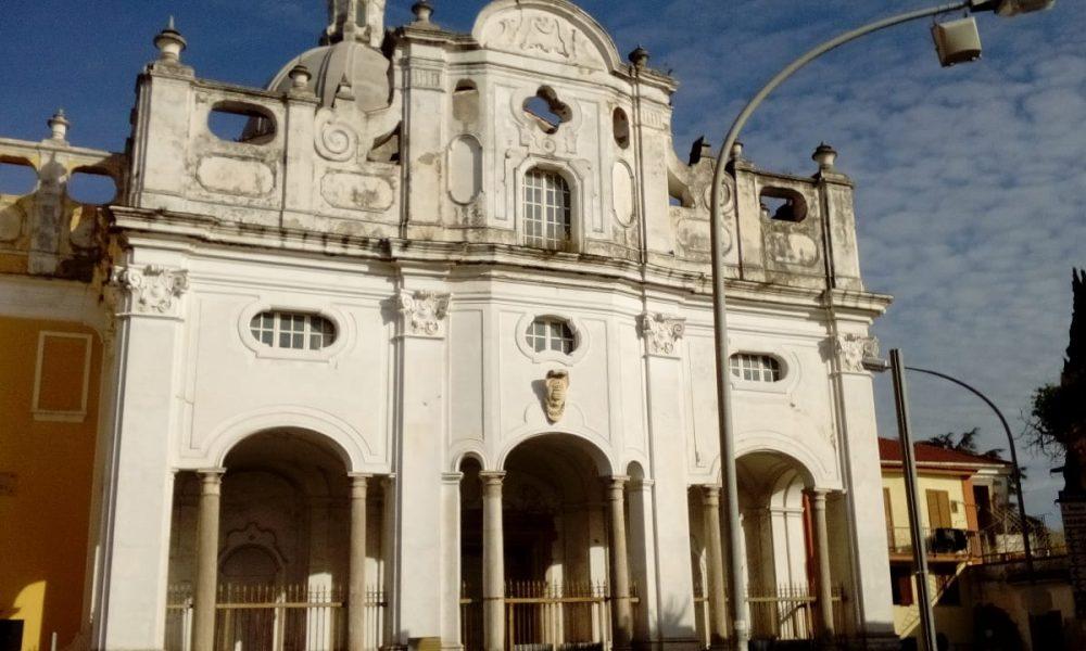 Facciata della chiesa di Santa Maria delle Dame Monache