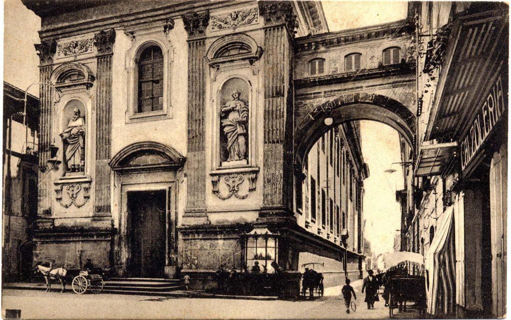 Vecchia Foto della Chiesa Dell'annunziata di Capua