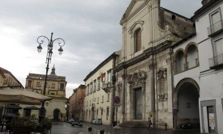 Chiesa Di Sant'eligio A Capua Facciata