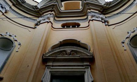 La Chiesa della Carità e la sua facciata borrominiana.