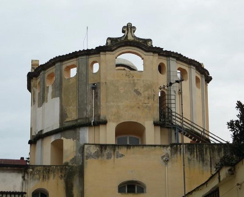Dal tiburio della Chiesa della Carità si può vedere tutta Capua.