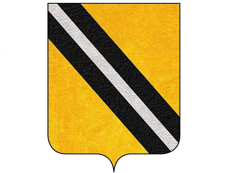 Lo stemma della famiglia di Bartolomeo di Capua.