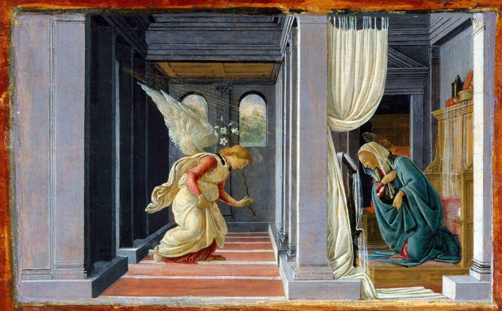 L'annunciazione di Botticelli
