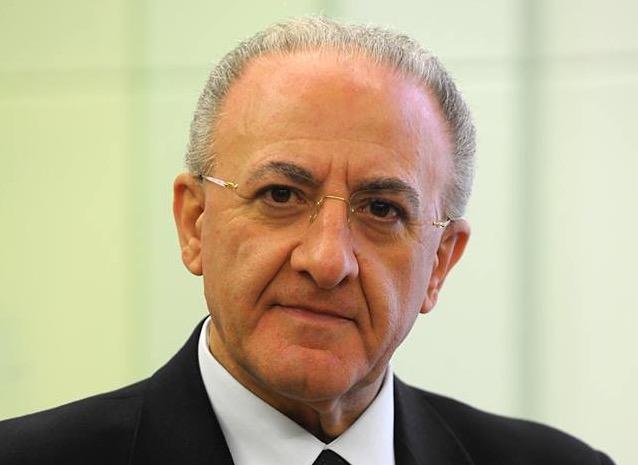 Il Presidente della Regione De Luca