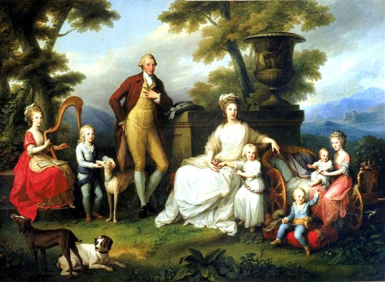 Famiglia di Ferdinando IV