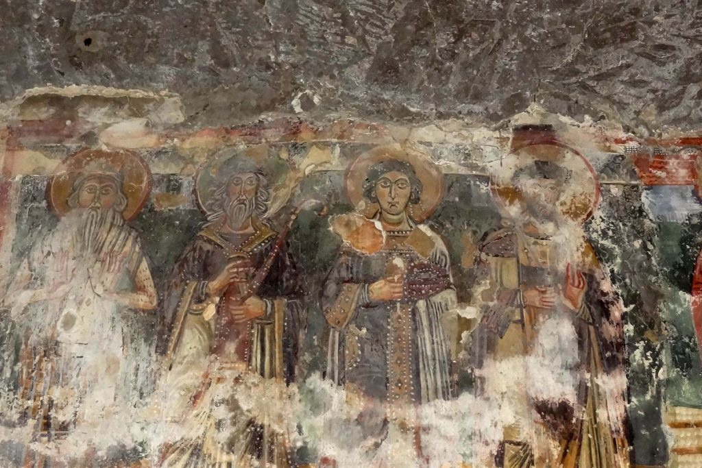 La grotta dei santi