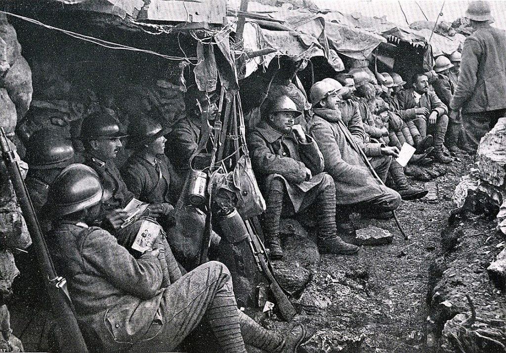 Molti soldati erano giovani, forti e determinati