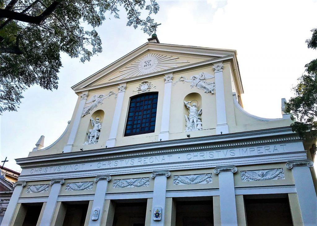 La facciata del Duomo di Caserta