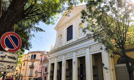 L'esterno del Duomo di Caserta