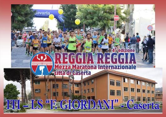 L'Istituto F. Giordani per la Mezza Maratona Reggia Reggia