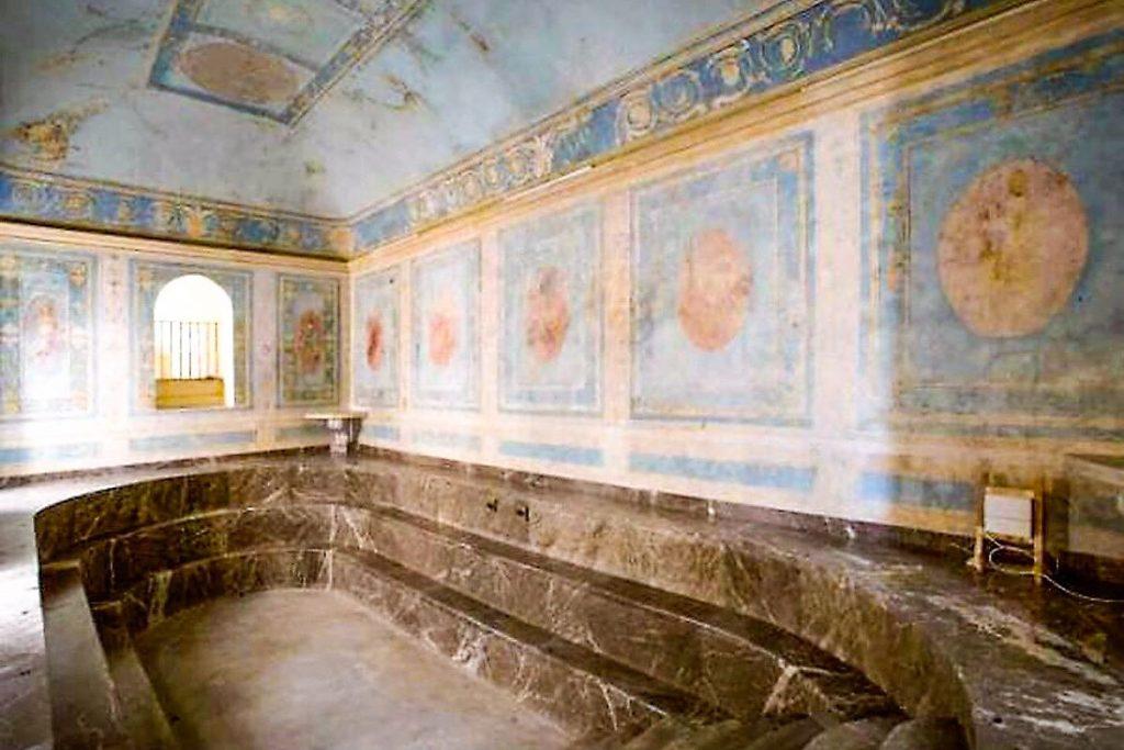 Il bagno di Maria Carolina