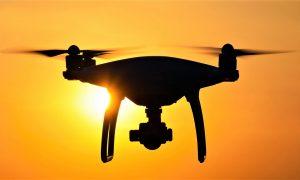I droni alla Reggia di Caserta contro la criminalità e il vandalismo