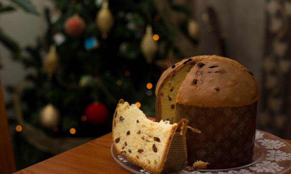 Panettone tradizionale natalizio