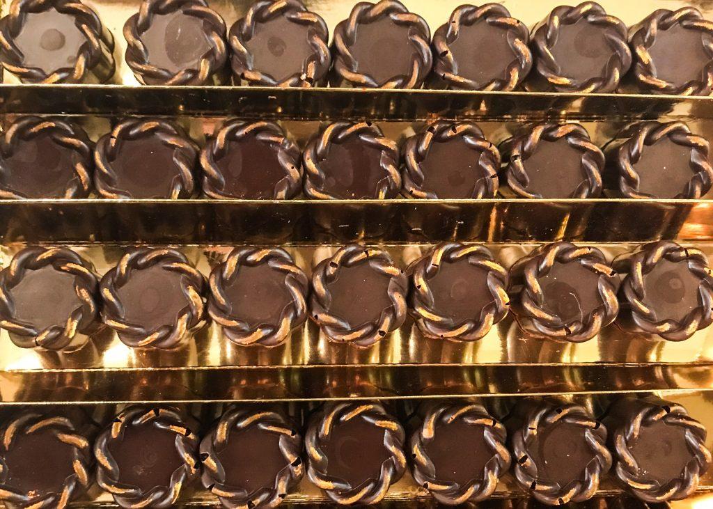 Cioccolatini dedicati a Maria Amalia di Sassonia