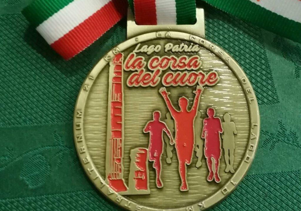 La medaglia della Corsa del Cuore