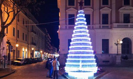 L'albero illuminato