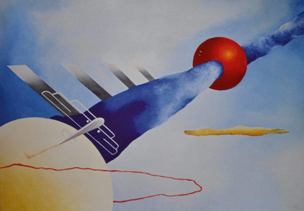 Una delle opere simbolo dell'Aeropittura futurista