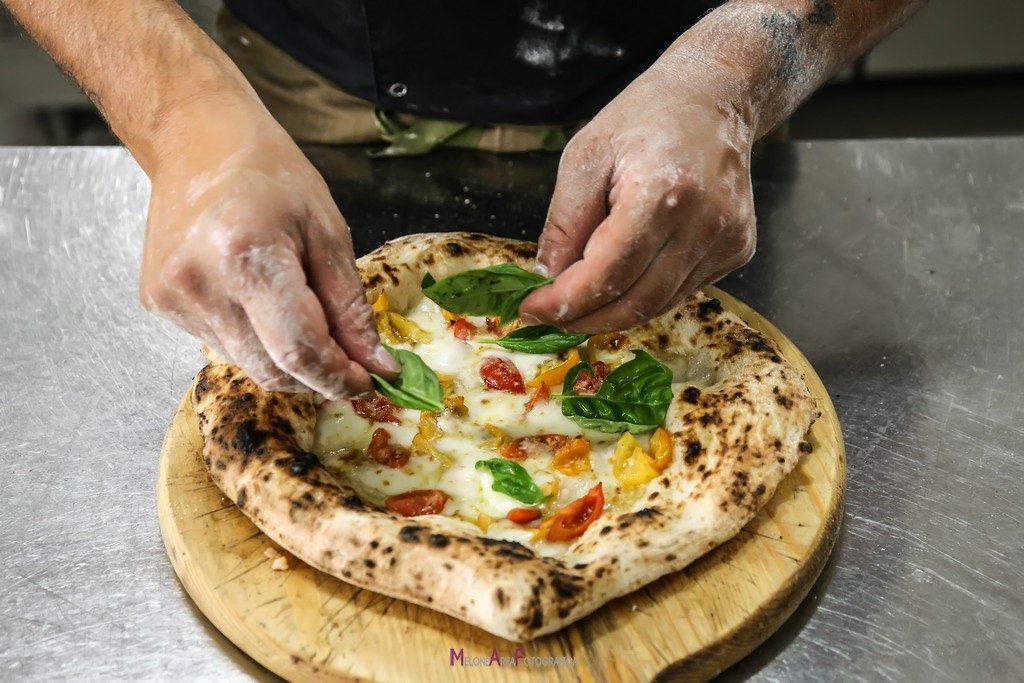 Una delle pizze di Sasà