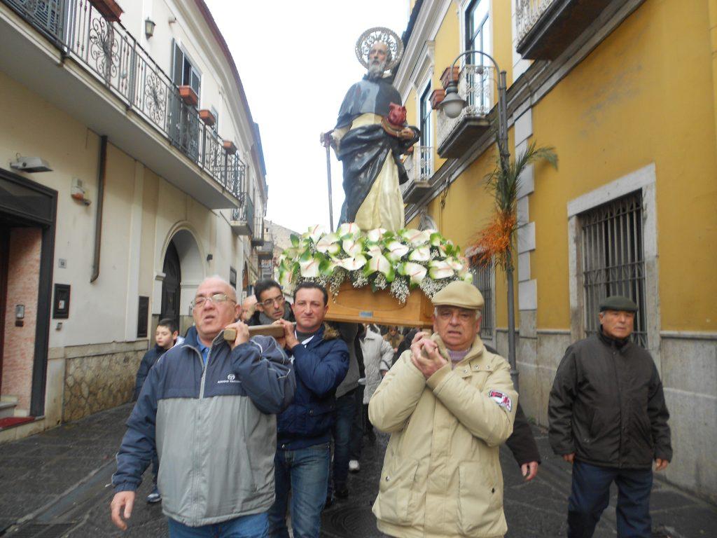 La processione di Sant'Antonio